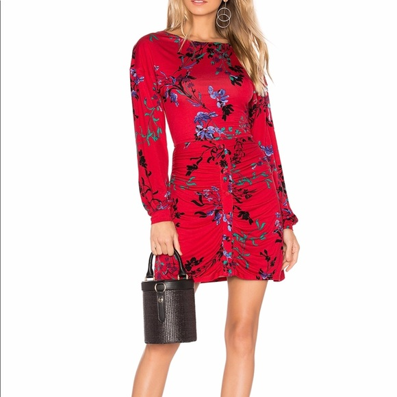 House Of Harlow 1960 Dresses X Revolve Siri Dress In Red Fleur Offers Welcome Poshmark Why buy when you can rent? x revolve siri dress in red fleur offers welcome
